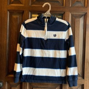 Chaps mock neck rugby shirt